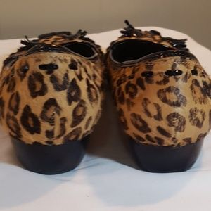 Kelly & Katie Shoes - Kelly & Katie Leopard Print Flats